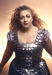 Soprano Christine Goerke as Bruennhilde in Wagners Die Walkuere © Photo by Vincent Peters / Met Opera